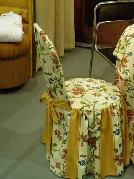 Чехол на круглый стул своими руками мастер класс